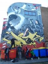 Brighton streets - Loving the street art with - Or Meir Schriber, Zina Zinchenko, Oz Shoran, Gil Shachar
