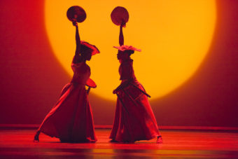 Alvin Ailey Alvin Ailey American Dance Theater's Akua Noni Parker and Demetia Hopkins Greene in Alvin Aileys Revelations Photo by Gert Krautbauer Zurich