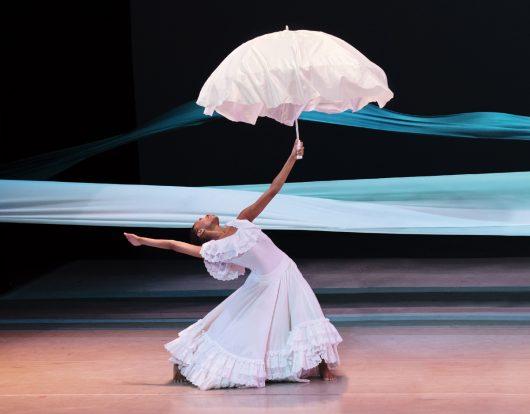 Alvin Ailey Alvin Ailey American Dance Theater's Jacqueline Green in Alvin Ailey's Revelations Photo by Paul Kolnik