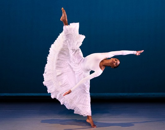 Alvin Ailey American Dance Theater's Jacqueline Green in Alvin Ailey's Cry. Photo by Paul Kolnik.