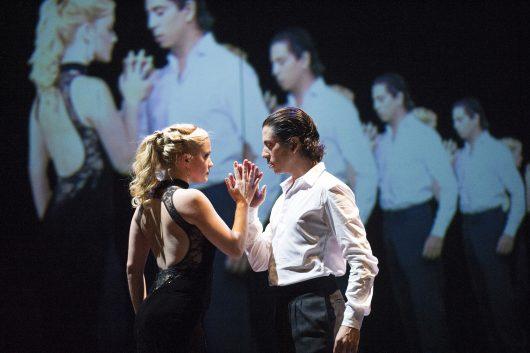 A scene from Milonga @ Theatre Jorat, Switzerland. Directed by Sidi Larbi Cherkaoui. Produced by Sadler's Wells. (Opening 23-05-13) ©Tristram Kenton 05/13 (3 Raveley Street, LONDON NW5 2HX TEL 0207 267 5550 Mob 07973 617 355)email: tristram@tristramkenton.com