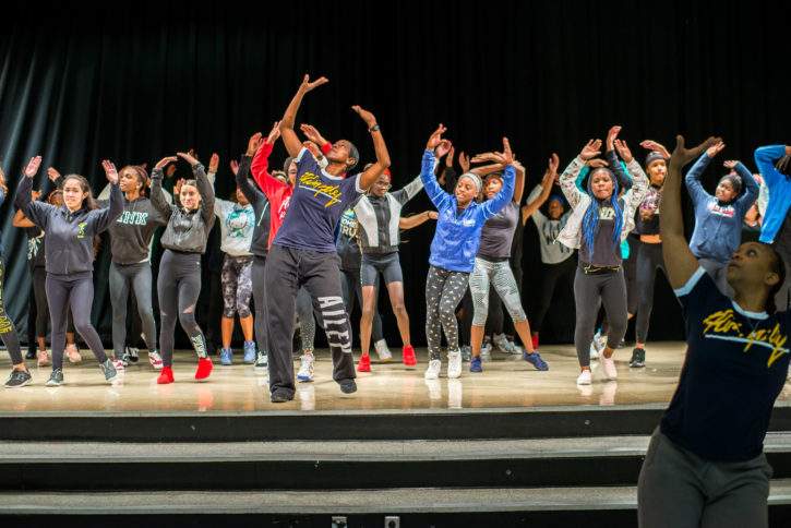 Revelations workshop Alvin Ailey American Dance Theatre