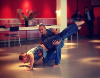 Ballet Boyz perform at the DanceQuest Launch