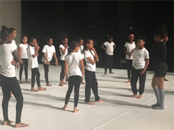 Inspiring teachers and students studying dance